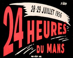 Vintage Metal Sign - 24 Heures Du Mans - Racing Poster
