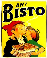 Vintage Metal Sign - Retro Advertising - Ah Bisto