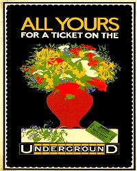 Vintage Metal Sign - Retro Advertising - London Underground