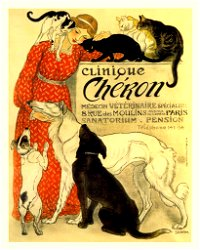 Vintage Metal Sign - Retro Advertising - Clinique Cheron
