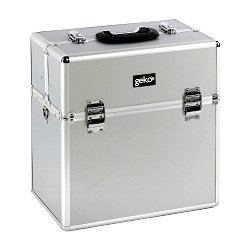 Vanity Case / Makeup Box Box Silver