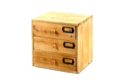 Storage Drawers (3 drawers) 28 x 23 x 28 cm