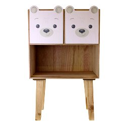 Baby Bear Two Drawer Storage Unit