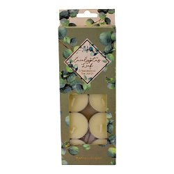 Set of 10 Eucalyptus Tea Lights