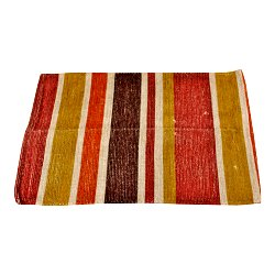 Morrocan Inspired Kasbah Rug, Striped Design, 60x90cm