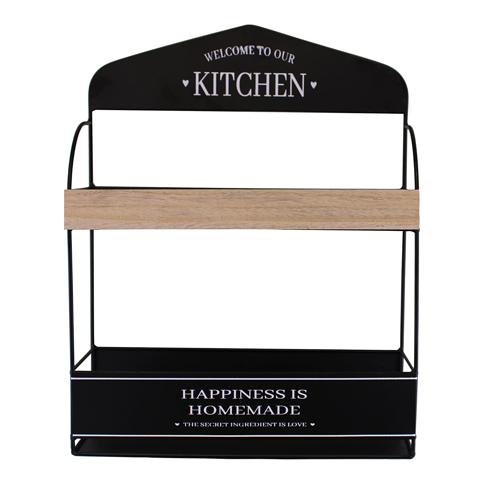 Decorative Wall Hanging Kitchen Shelving Unit