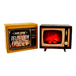 Retro Style Television Fire Place