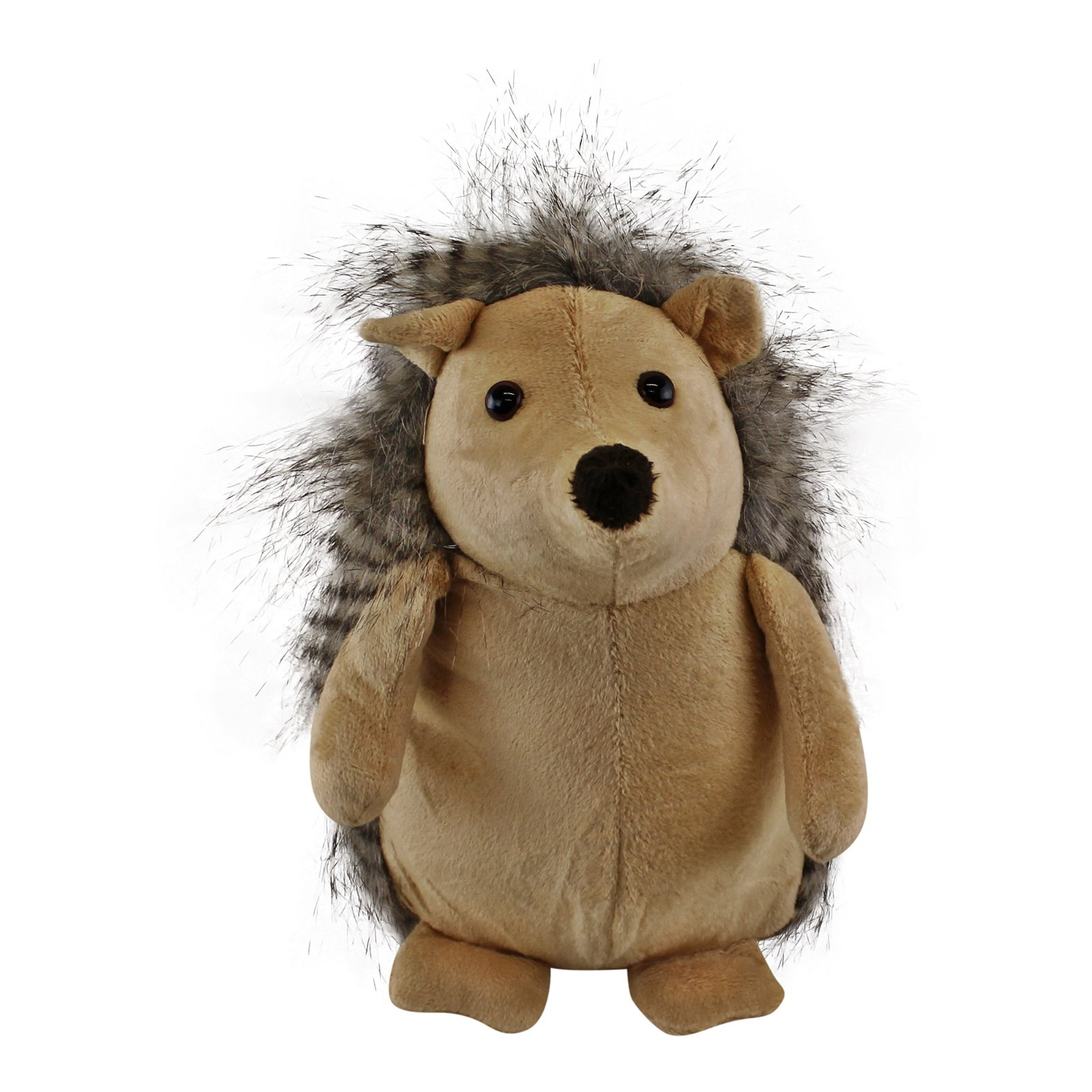 Hedgehog Doorstop with Brown Body