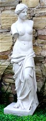 Stone Effect Lady Figure Venus Large