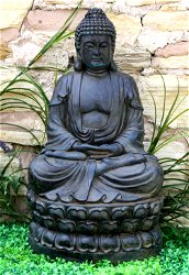 Meditating Sitting Buddha Large Statue